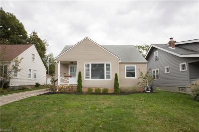 Bay Village, Rocky River, Fairview Park, Westlake, Lakewood Single Family Home For Sale: 1525 Hampton Rd