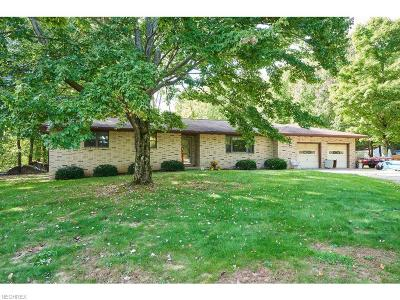 Copley Single Family Home For Sale: 2350 Coon Rd