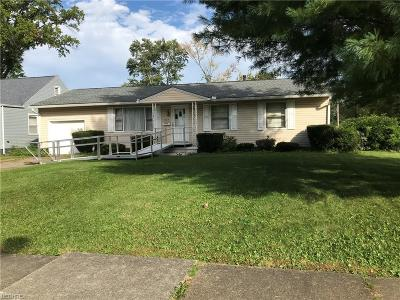 Warren Single Family Home For Sale: 927 Central Parkway Ave Southeast