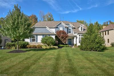Geauga County Single Family Home For Sale: 7620 Cottonwood Trl