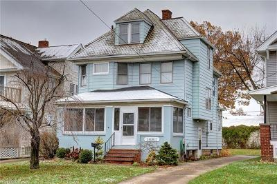 Bay Village, Rocky River, Fairview Park, Westlake, Lakewood Single Family Home For Sale: 1661 Robinwood Ave
