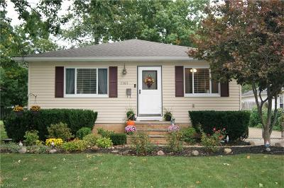 Eastlake Single Family Home For Sale: 1161 East 362nd St