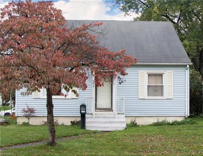 Warren Single Family Home For Sale: 996 Belvedere Ave