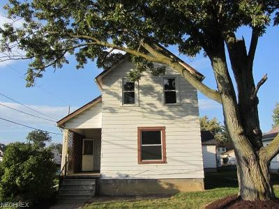 Lorain Single Family Home For Sale: 942 West 22nd St