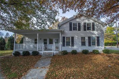 Single Family Home For Sale: 7710 Columbia Rd