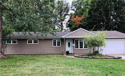 Mentor-On-The-Lake Single Family Home For Sale: 6106 Campbell Rd