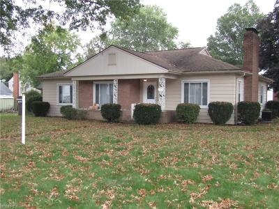 Boardman Single Family Home For Sale: 4715 Firnley Ave