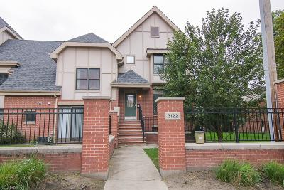 Cleveland Condo/Townhouse For Sale: 3122 East 135th St #1