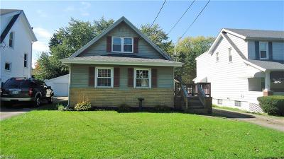 Hubbard Single Family Home For Sale: 222 Stewart Ave