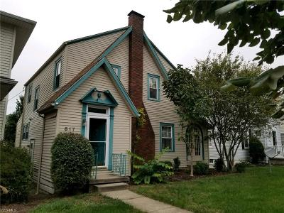 Zanesville Single Family Home For Sale: 817 Saint Louis Ave