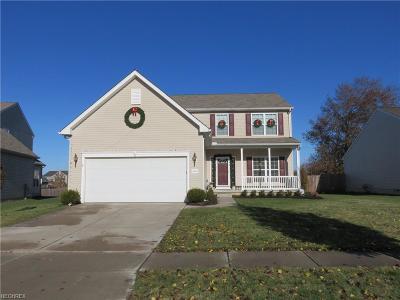Avon Single Family Home For Sale: 39076 Caistor Dr