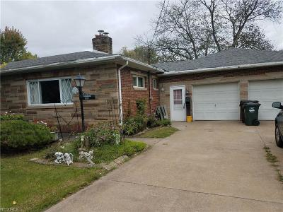 Lorain Single Family Home For Sale: 5237 Elyria Ave