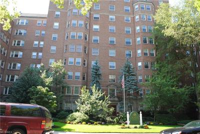 Cleveland Condo/Townhouse For Sale: 13710 Shaker Blvd #607