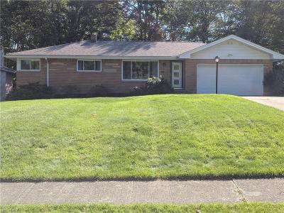 Strongsville Single Family Home For Sale: 18161 Bonnie Ln
