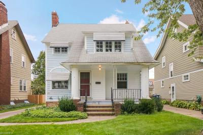 Lakewood Single Family Home For Sale: 2133 Northland Ave