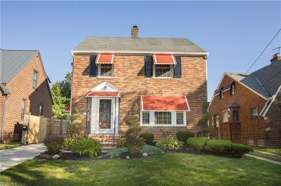 Cleveland Single Family Home For Sale: 6504 Plainfield Ave