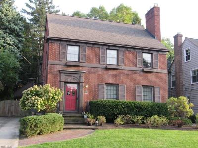 Rocky River Single Family Home For Sale: 21221 Morewood Parkway