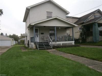Youngstown Single Family Home For Sale: 407 North Bon Air Ave