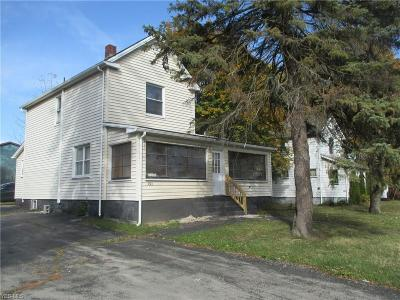 Struthers Single Family Home For Sale: 795 Poland Ave