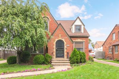 Cleveland Single Family Home For Sale: 7102 Brookside Dr