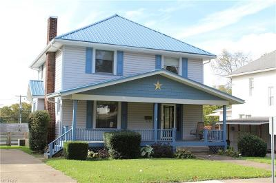 Guernsey County Single Family Home For Sale: 915 Clark St