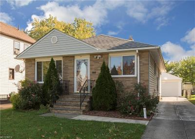 Cleveland Single Family Home For Sale: 3867 West 136th St
