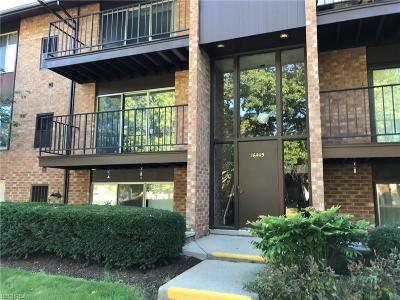 Middleburg Heights Condo/Townhouse For Sale: 16445 Heather Ln #4A-302