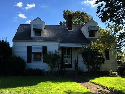 Alliance OH Single Family Home Pending: $88,000