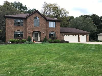 Broadview Heights Single Family Home For Sale: 495 Quail Run Dr