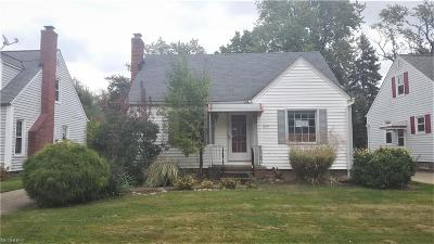 Willowick Single Family Home For Sale: 249 East 285th St