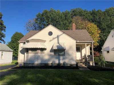 Youngstown Single Family Home For Sale: 245 Rosemont Ave