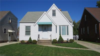 Parma Single Family Home For Sale: 6108 Brownfield Dr