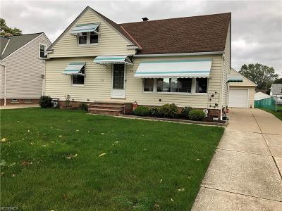 Willowick Single Family Home For Sale: 333 East 307th St