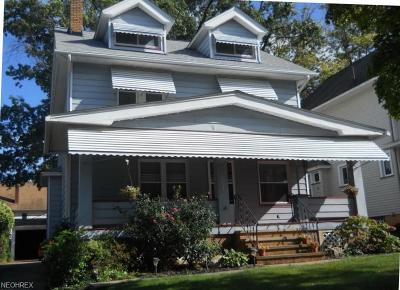 Bay Village, Rocky River, Fairview Park, Westlake, Lakewood Single Family Home For Sale: 1531 Woodward Ave