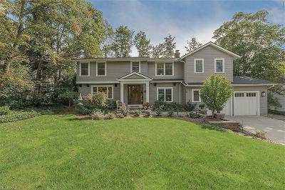 Chagrin Falls Single Family Home For Sale: 123 West Summit St
