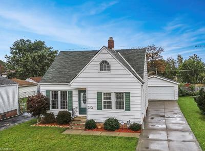 Parma Single Family Home For Sale: 3802 Woodrow Ave