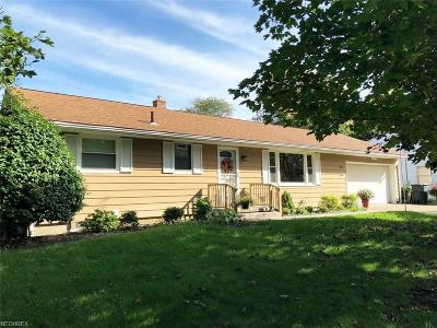 Wadsworth Single Family Home For Sale: 681 Baker St