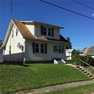Single Family Home For Sale: 1131 Clay Ave