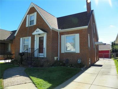 Parma Single Family Home For Sale: 6111 Forest Ave