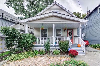 Cleveland Single Family Home For Sale: 851 Starkweather Ave