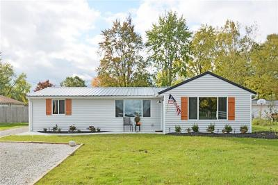Columbia Station Single Family Home For Sale: 33609 Brokaw Rd