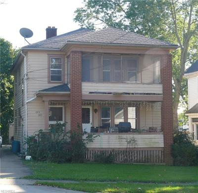 Girard Multi Family Home For Sale: 223 East Liberty St