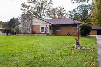 Girard Single Family Home For Sale: 912 Pinecrest Rd