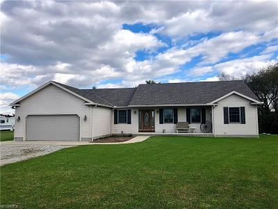 Ashland County Single Family Home For Sale: 1109 St Rt 511