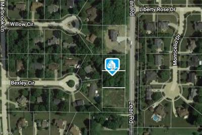 Lorain County Residential Lots & Land For Sale: Lear Rd