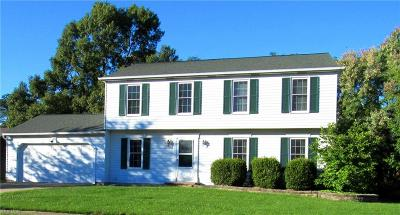 Strongsville OH Single Family Home For Sale: $229,900