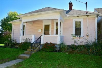 Zanesville OH Single Family Home For Sale: $32,900