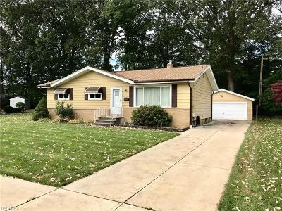 Fairview Park Single Family Home For Sale: 4042 West 214th St
