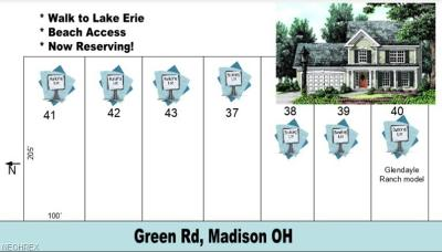 Lake County Residential Lots & Land For Sale: Sl 37 Green Rd