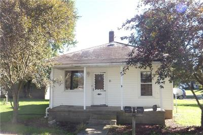 Muskingum County Single Family Home For Sale: 18 West 2nd St